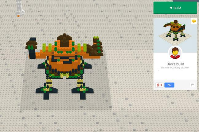 Build your own Lego world online - BT