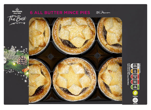 Morrisons The Best All Butter Mince Pies