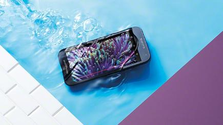 Water-resistant budget smartphone unveiled