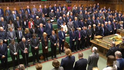MPs honour the memory of PC Keith Palmer