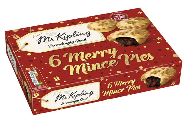 Mr Kipling Merry Mince Pies
