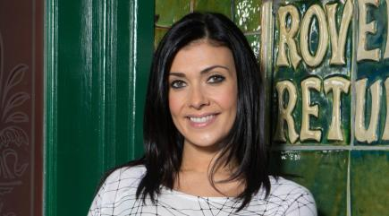 Who is Kym Marsh's new Corrie love interest?