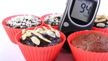 Muffins and a blood sugar monitor