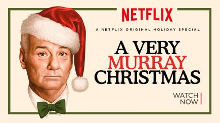 Open a stocking full of stars with A Very Murray Christmas - BT
