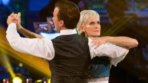 Judy Murray and Anton Du Beke danced a waltz