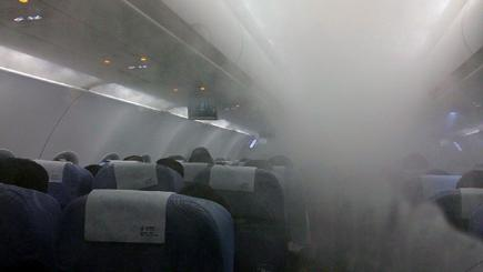 Mystery as flight is hit by a blanket of fog