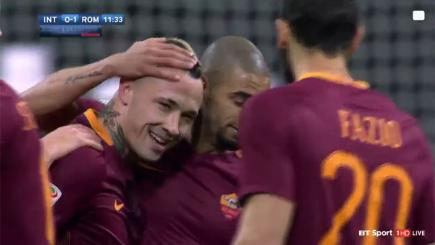 Nainggolan nets a second stunner for Roma
