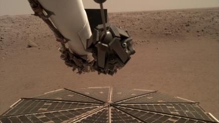 El aterrizaje de la NASA captura los primeros sonidos del viento marciano