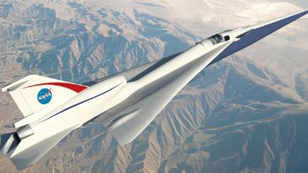 Nasa Quiet Supersonic Technology X-plane