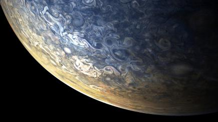 Nasa's Juno spacecraft has delivered a fresh batch of spectacular Jupiter photos