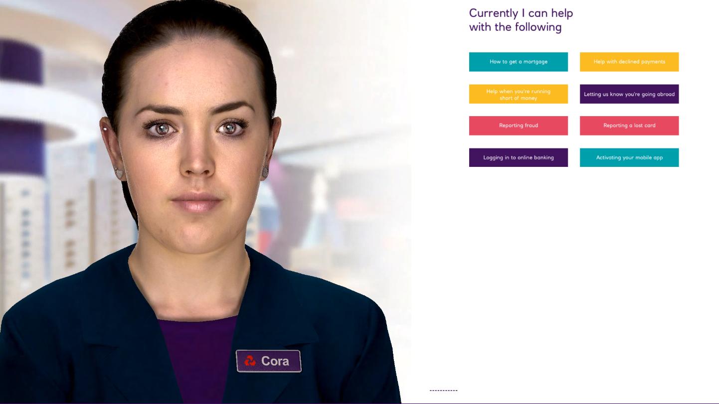 United Kingdom bank NatWest trials Soul Machines' digital human