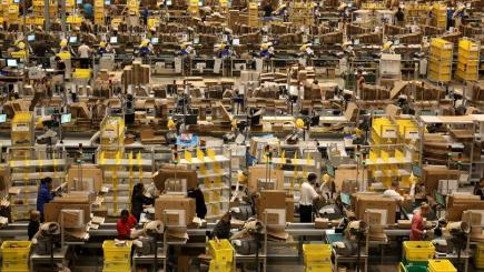 new amazon warehouse to create more than 300 jobs bt. Black Bedroom Furniture Sets. Home Design Ideas