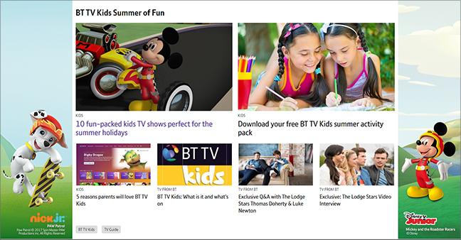 BT.com articles