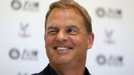 New Crystal Palace Manager Frank De Boer