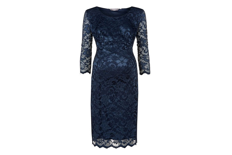 New look lace maternity dress