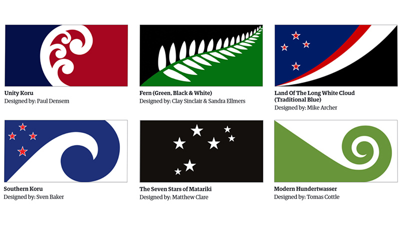 is this new zealand 39 s new flag 40 designs make longlist ahead of