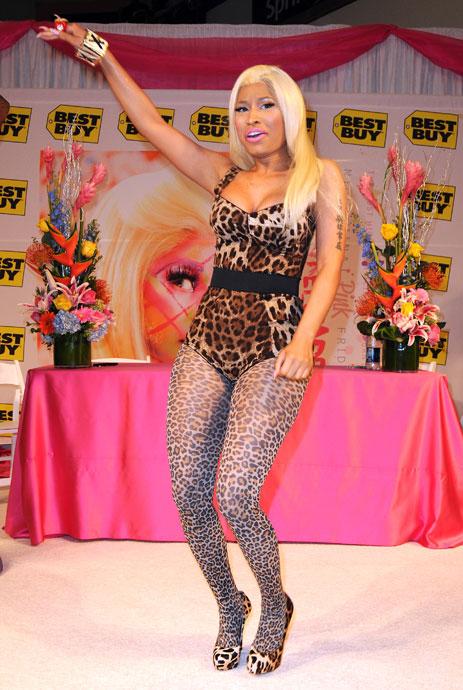 7 ways not to wear leopard print - BTNicki Minaj In Leopard Print