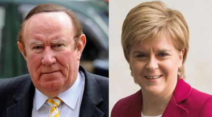 Sturgeon presents SNP as last line of defense against Tories