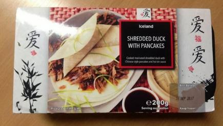Iceland duck pancakes