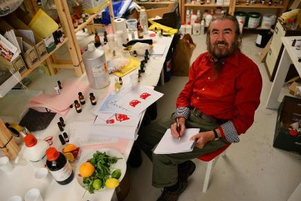 Master perfumer and Aroma Academy scientist Dr George Dodd