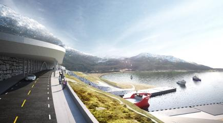 Will Norway build world's first tunnel for ships?