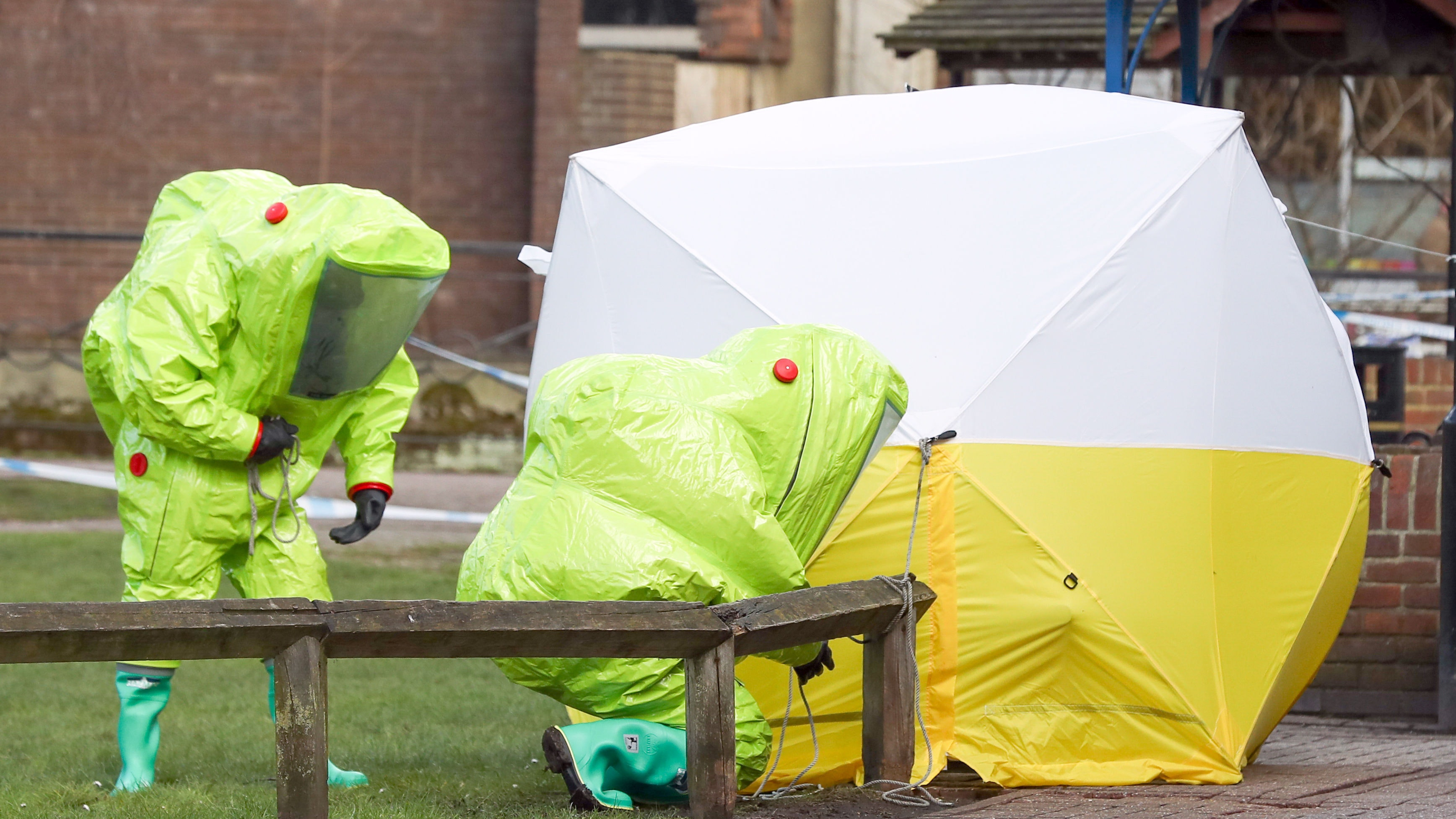 First anniversary of Novichok poisonings in Salisbury