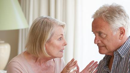Older couples learn to keep the peace