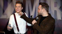 "Olly Murs talks about his ""strange looking"" body as he unveils new waxwork"
