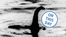 The Surgeon's Photograph of the Loch Ness Monster published in the Daily Mail