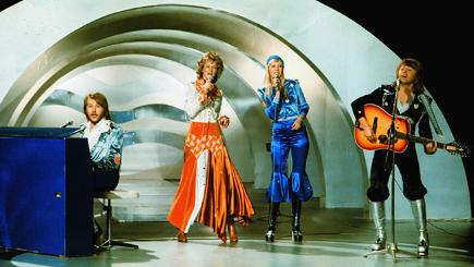 Abba perfoming during Eurovision