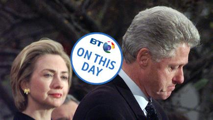 On this day: President Clinton is impeached