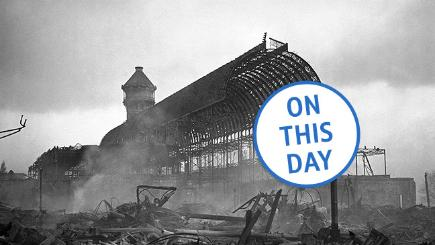 On this day: Fire destroys Crystal Palace
