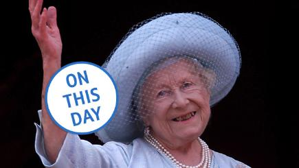 On this day: The Queen Mother dies, aged 101