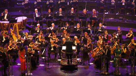 The Royal Philharmonic Concert Orchestra is performing Vivaldi with a third of the original notes missing