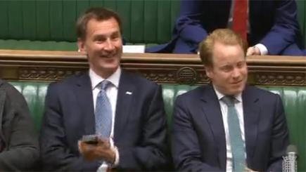 Opinion: Jeremy Hunt's phone fiddling shows contempt for parliament