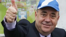 Alex Salmond said it had been a remarkable day