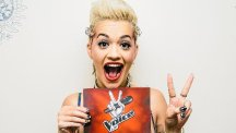Rita Ora who has been signed up to replace Kylie Minogue as a coach on The Voice