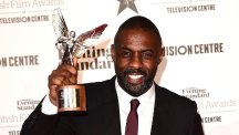 Beasts Of No Nation star Idris Elba is nominated in the best actor category