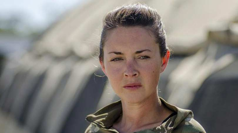 Lacey Turner as Mollie Dawes in Our Girl