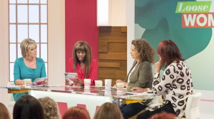 Outrage as Loose Women anger with rape victim survey