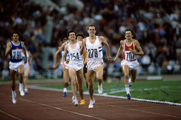 Both Steve Ovett and Sebastian Coe won gold medals at the Moscow Olympic Games.