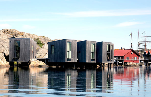 Painting Studios, Lake Skarhamn, Sweden