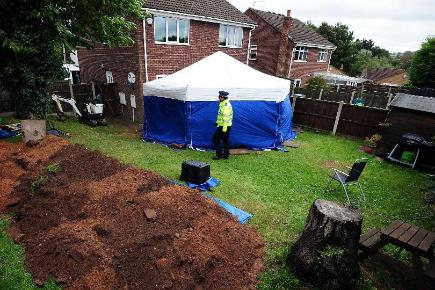 Remains found in a back garden in Mansfield are believed to be those of William and Patricia Wycherley