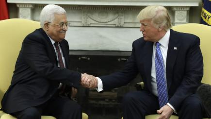 Trump Optimistic on Achieving Peace in ME, Abbas Hopes for Historic Deal