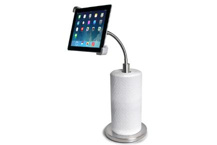 Paper Towel Holder with Gooseneck stand