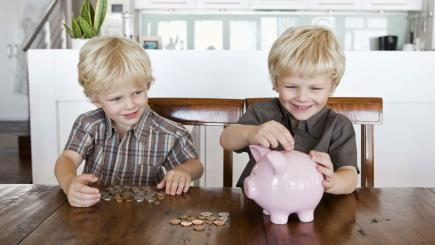 Parents spend over £7,000 a year on young children