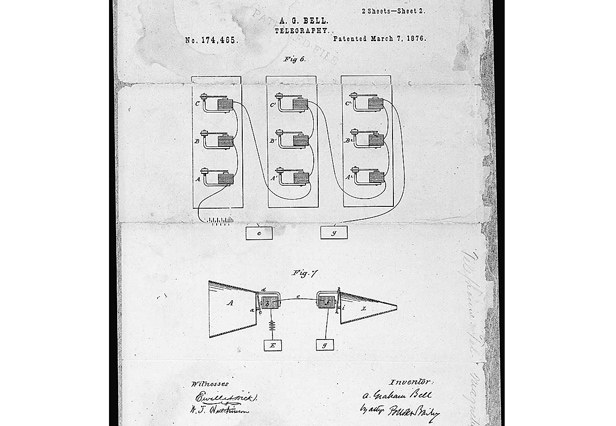 Alexander Graham Bell patent telephone
