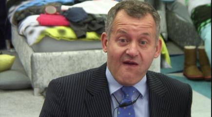 Paul Burrell reveals the secrets of the Queen's handbag on Celebrity Big Brother
