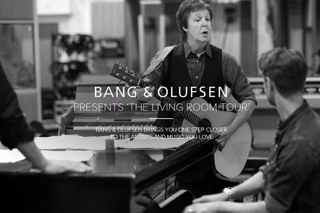Paul Mccartney And Bang Olufsen Team Up For Live Web Chat Bt