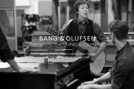 Paul McCartney screengrab Bang & Olufsen The Living Room Tour